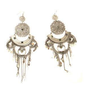 Indian ornamental earrings